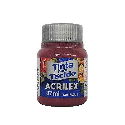Tinta para Tecido Acrilex 37ml 588 Vermelho Queimado