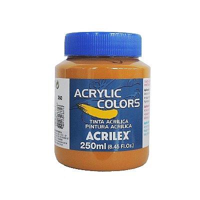 Tinta Acrilica Acrilex 250ml Grupo 2 360 - Amarelo Ocre