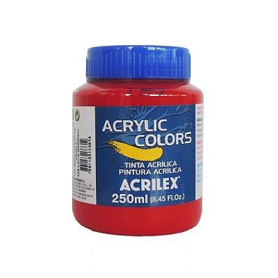 Tinta Acrilica Acrilex 250ml Grupo 3 328 - Laca Gerânio