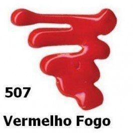 Tinta Dimensional Brilhante 35 ml - 507- Vermelho Fogo