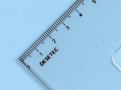 Esquadro Trident 45º 28cm - com Escala
