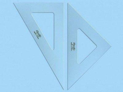 Esquadro Trident 45º 28cm - sem Escala