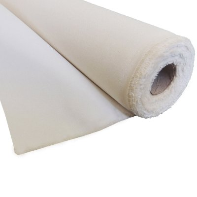 Tecido Para Telas Pronto Para Pintar 1.70 mt larguraX20 mts