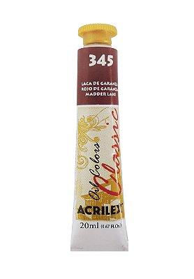 Tinta Oleo Acrilex 20ML 345 - Laca de Garanza