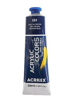Tinta Acrilica Acrilex 59ml 331 - Azul da Prussia
