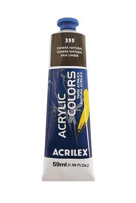 Tinta Acrilica Acrilex 59ml 355 - Sobra Natural
