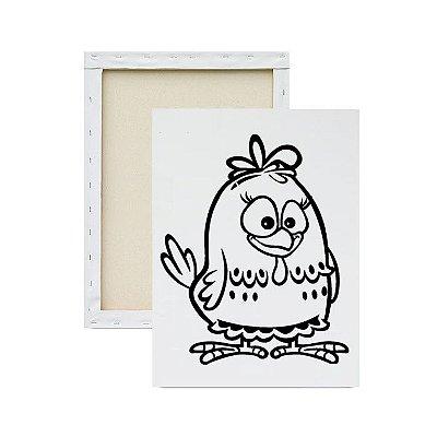 Tela Para Pintura Infantil - Galinha Pintadinha
