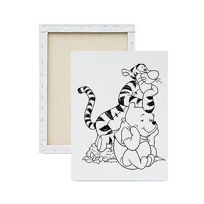 Tela Para Pintura Infantil - Tigre