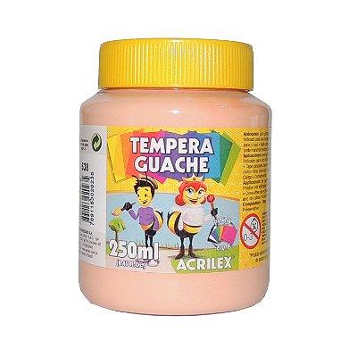 Tinta Tempera Guache Acrilex 250 ml 538 - Amarelo Pele