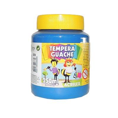 Tinta Tempera Guache Acrilex 250 ml 559 - Azul