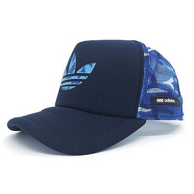 Boné / Adidas / Trefoil Blue Camo
