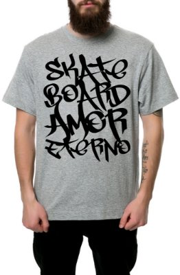 Camiseta - SHEIK [Skateboard Amor Eterno]