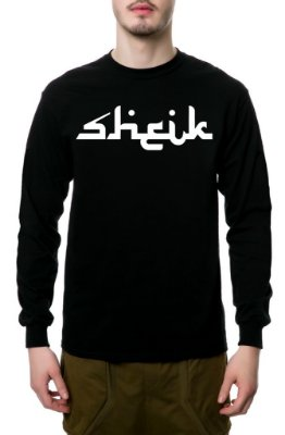 Camiseta Manga Longa / Sheik Supply Co / Arabic