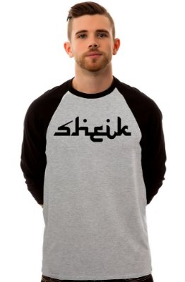 Camiseta Raglan 3/4 / Sheik Supply Co / Arabic