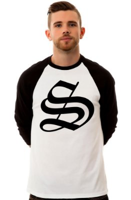 Camiseta Raglan 3/4 / Sheik Supply Co / Icon
