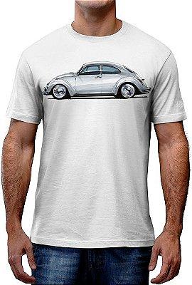 [OFERTA] Camiseta Fusca Branco Tamanho M