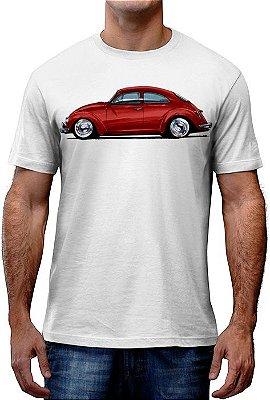 [OFERTA] Camiseta Fusca Vermelho Tamanho GG