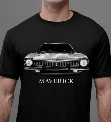 [OFERTA] Camiseta Maverick Classic Tamanho G