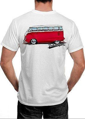 [OFERTA] Camiseta Kombi Vermelha Tamanho P