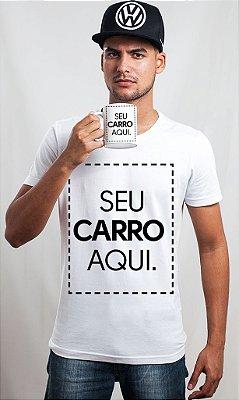 Kit Personalizado: Camiseta + Boné SNAP + Caneca