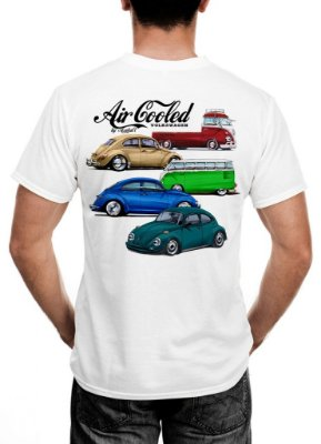 Camiseta Air Cooled Cast Design