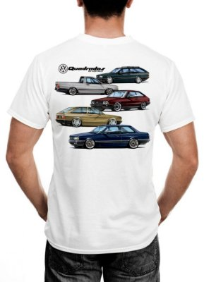 Camiseta VW Quadrados Cast Design