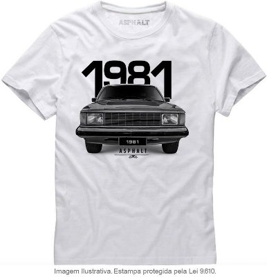 Camiseta Opalenda 81 Comod Classic