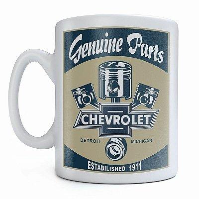 Caneca Genuine Parts GM Sign