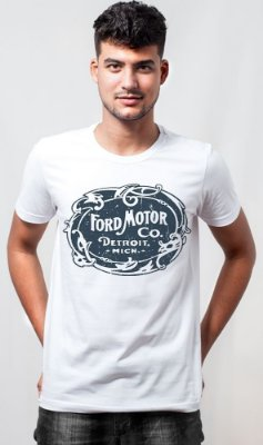 Camiseta Ford Motor Sign