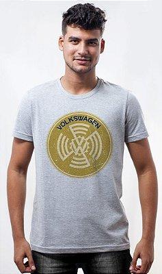 Camiseta Volkswagen Sign Amarela