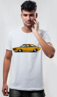 Camiseta Chevetinho Tubarão Cast Design