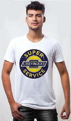 Camiseta Chevrolet Super Service Sign