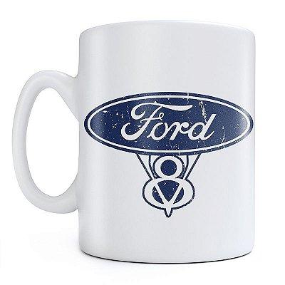 Caneca Ford V8 Sign