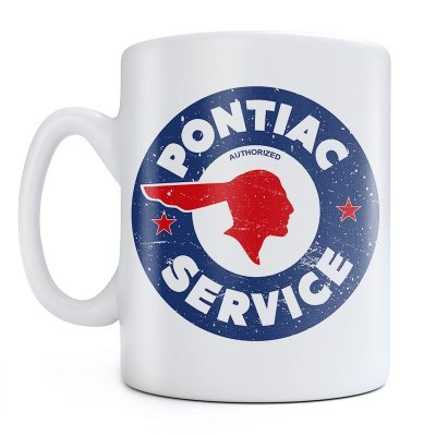 Caneca Pontiac Sign