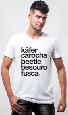 Camiseta Fusca Names