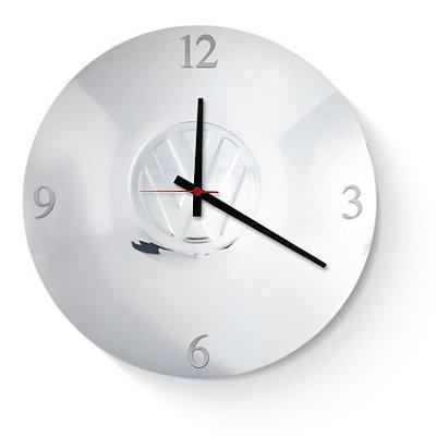 Relógio Volkswagen Cromado