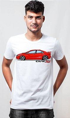 Camiseta New Civic SI Cast Design