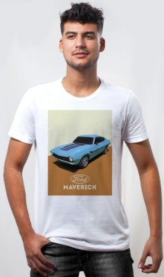 Camiseta Maverick Retrô