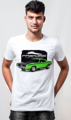Camiseta Pastore Plymouth Barracuda