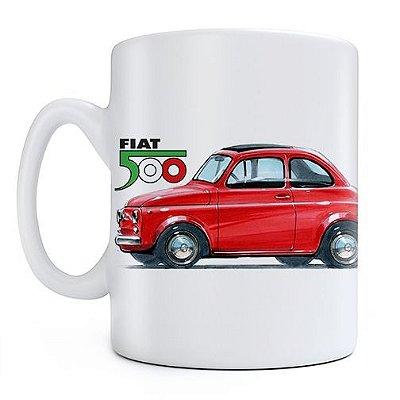 Caneca Fiat 500D Cast Design