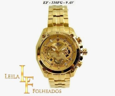 Relógio Casio Edifice Ef-550fg-9av / 7av / 1av Gold Edition