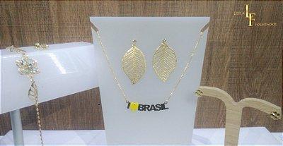 Kit box - Semi joias Brasil conjunto completo