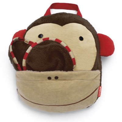 Cobertor Infantil, Skip Hop Zoo, tema Macaco