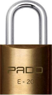 Cadeado Pado com 2 chaves (20mm a 60mm)