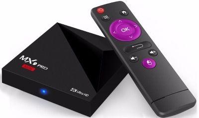 Novo Tv Box MX9 Pro Mini 4k Ultra HD Android 7.1.2 2GB DDR3 + Lista de Canais Premium Grátis + Frete Grátis para todo Brasil.