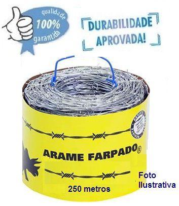 ROLO DE ARAME FARPADO  |   250 METROS
