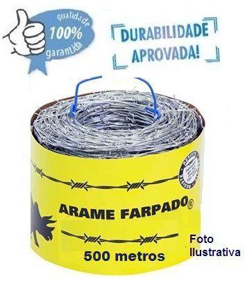 ROLO DE ARAME FARPADO  |   500 METROS
