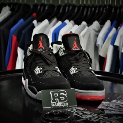 Nike Air Jordan 4 Retro Bred 2012 - ENCOMENDA