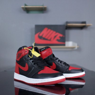 Tênis Nike Air Jordan 1 Retro High OG Bred - ENCOMENDA