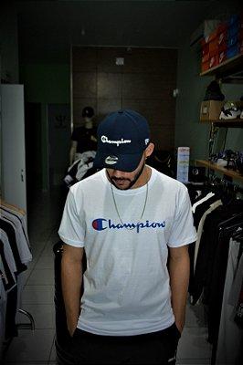 Camiseta Champion Logo - Branca